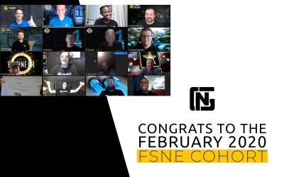 Full Stack Network Engineer February 2020 Cohort Graduation