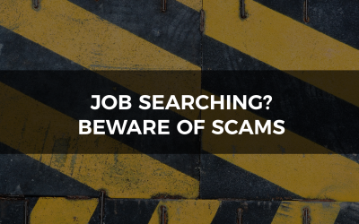 Don't let yourself be scammed, identify these red flags when job searching
