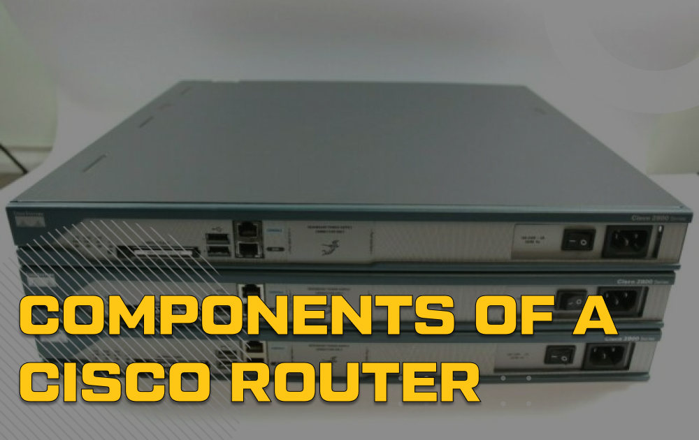 On the Inside – Cisco 2811 Router