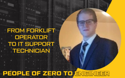 From forklift operator to IT Support Technician | NexGenT