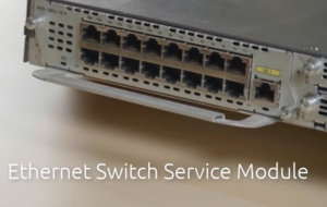 ethernet switch service module