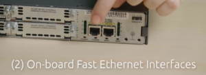 onboard fast ethernet interfaces