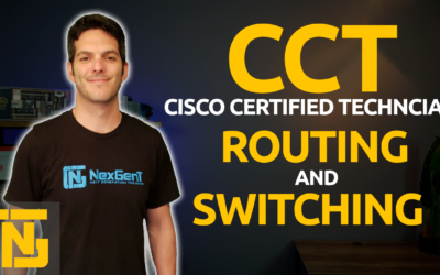 Cisco CCT – Routing and Switching 100-490 RSTECH Certification