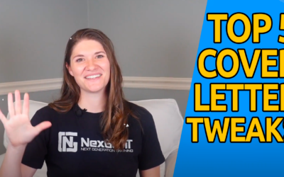 Top 5 Ways to Tweak a Cover Letter