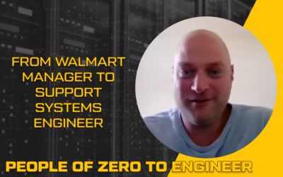 From Walmart Manager to Support Systems Engineer | Scott Crabb