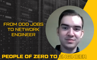 From Odd Jobs to Network Engineer | Robert Buenrosto